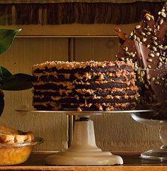 chocolates, chocol cake, gramerci tavern, food, german chocol