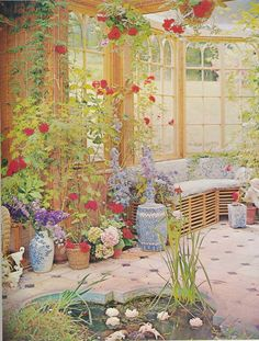 The Peak of Chic®: Your Decorating Horoscope conservatory of Cecil Beaton!