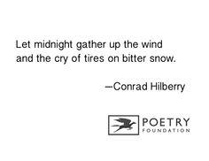 """Christmas Night"" by Conrad Hilberry"