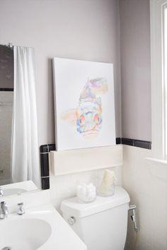 Benjamin Moore elephant gray  paint(plummy gray tone)