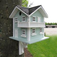 Home Bazaar HB-2036 Classic Series Beach Haven Bird House
