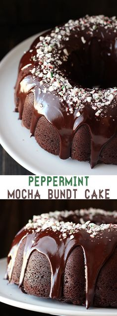 Peppermint Mocha Bun