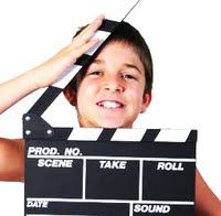 Making a Movie - To increase kids' public speaking ability, confidence and creativity through dramatic play.