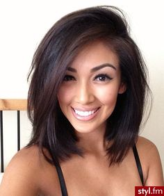 love this hair cut & color