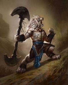 Werewolf vs weretiger - photo#27