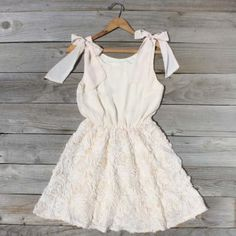Bicycle Path Dress, Sweet Women's Country Clothing