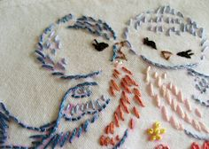 Free vintage transfer embroidery patterns.