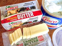 Butter vs Shortening
