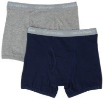 Calvin Klein Underwear Boys 8-20 2 Pack Multi Boxer Brief