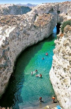 Papafragas - Milos, Greece
