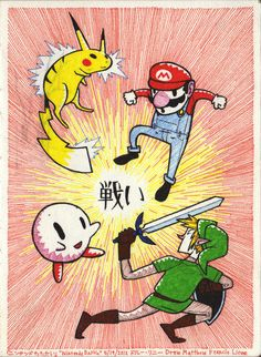 Fight !! by *DrewLinne on deviantART