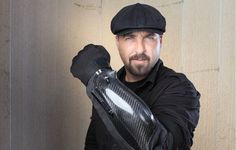 BodyGuard stun-glove packing 300,000 volt punch, a flashlight and a laser guided camera
