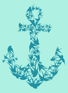 Anchors + Birds = perfection!