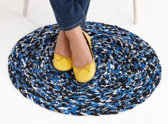 Quick and easy, make it as an area rug, welcome mat, or a bath mat! Try it out in Fettuccini.