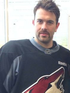 Keith Yandle in his Movember best