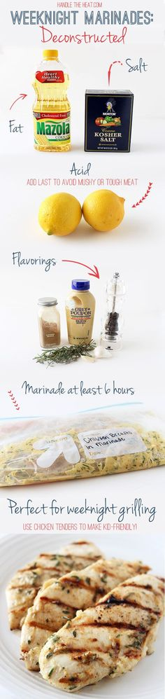 Favorite Weeknight Chicken Marinade | Handle the Heat