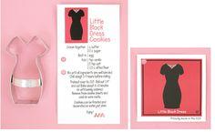 Cookie Cutter little black dress