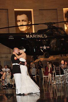 Marine Corps Museum Wedding