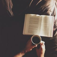 Words & coffee. Favorites of mine