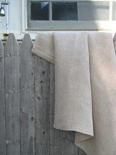 sauna cloth, handwoven linen.