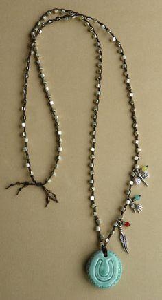 Erin Siegel Jewelry: Lucky Talisman Necklace