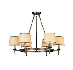 Dining room casual chandelier