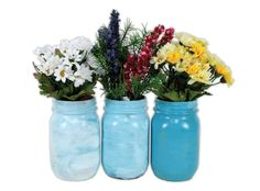 Painted Mason Jars by @Crafts Direct