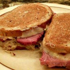 Reuben Sandwich II Allrecipes.com, photo by Lucky Noodles #allrecipes #myallrecipes #allrecipesallstars