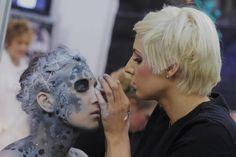 imats london, fantasy makeup, imat london, face paint, fantasi makeup