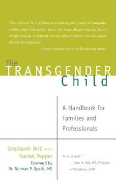 This comprehensive first of its kind guidebook explores the unique challenges that thousands of families face every day raising their children in every city and state. Through extensive research and interviews, as well as years of experience working in the field, the authors cover gender variance from birth through college.