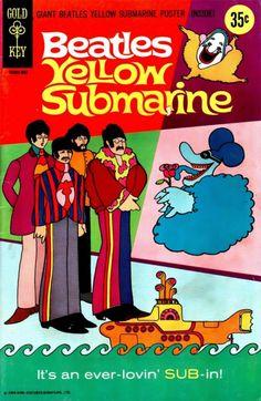 beatles yellow submarine comic