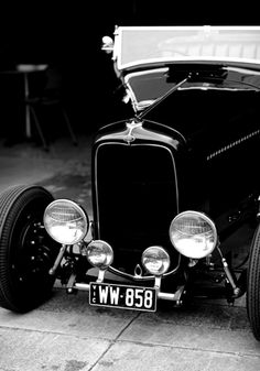 Classic '32 Ford.