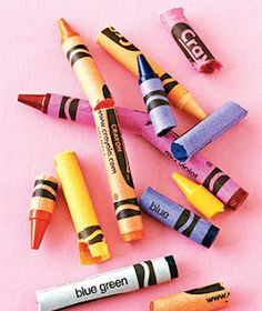 10 ways to reuse broken crayons