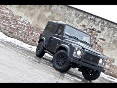 2013 A Kahn Design Land Rover Defender Military Edition
