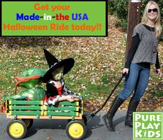 """Our wagon goes """"A-LONG"""" way and is used SO MANY ways! Think trick-or-treating, beaches, playdates, picnics and more! We've even had a few moms tell us that they use theirs in the garden!"""