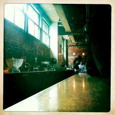 Coolest little speakeasy style bar