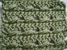 Double Crochet with a Twist Pattern