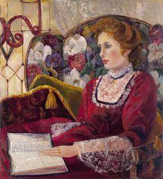 'Proverbs Woman'    Oil on paper by Bettie Hebert-Felder