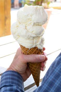 Home made ice cream