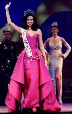 Jackeline Aguilera, Miss World 1995 from Venezuela..