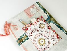 Covered Composition Book by Rebecca Sower, via Flickr
