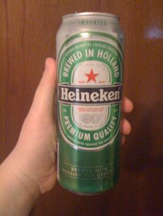 Actually my first Heineken. Not bad for a mass produced lager.