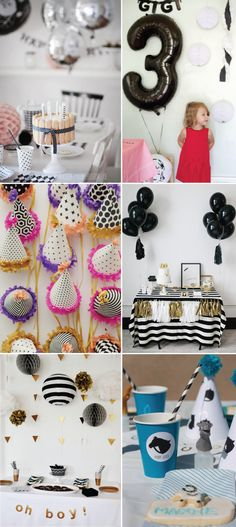 Make it Happen: Black and White Party Ideas