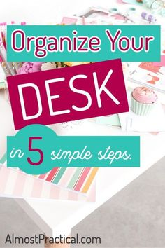 Simple desk organiza