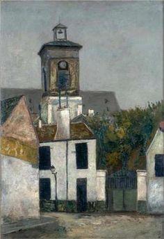 Chuch of Saint Margerit in Paris - Maurice Utrillo