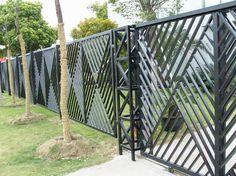 Wrought Iron Garden Fencing