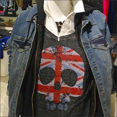 Union Jacked Skull