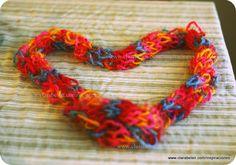Tejer con los niños: bufandas tejidas con los dedos - Inspiraciones: manualidades y reciclaje