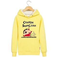 Crayon Shin-Chan A SUPER MISCHIEVOUS BOY pullover hoodie