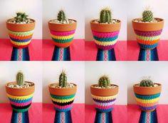 Visión Interiorista: Crochet para decorar